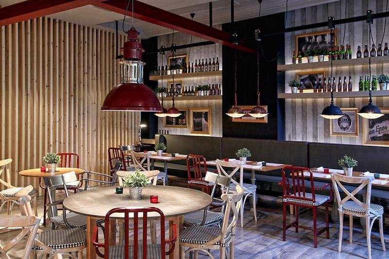 休闲餐厅设计案例欣赏