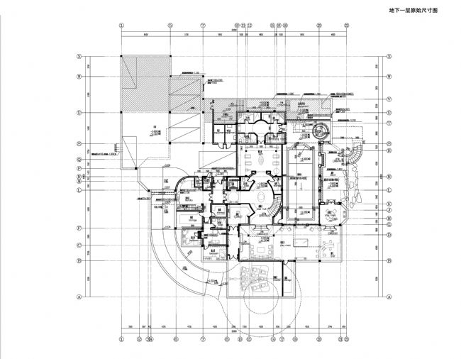 佘山月湖山莊別墅空間分析圖(上海)