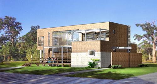 别墅建筑外观设计方案