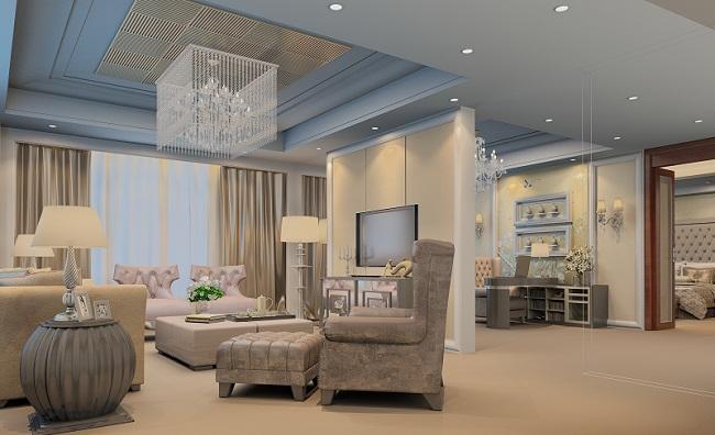最新别墅样板房设计效果图