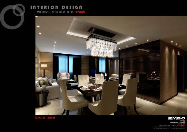 MR.ZHANG城市绿洲室内设计方案(江苏)