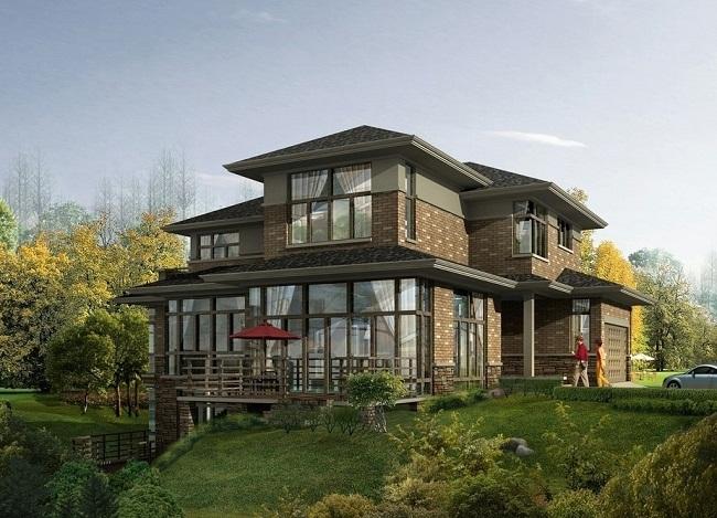 自建私宅:欧式别墅建筑设计方案