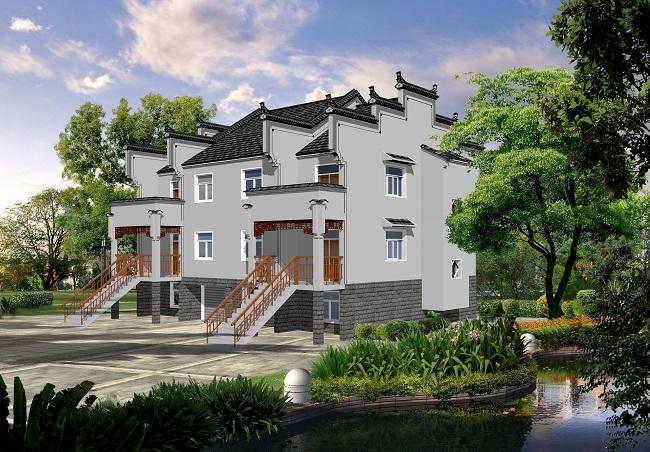 """别墅设计 建筑设计  中国""""美丽乡村""""农村房屋设计实践案例"""