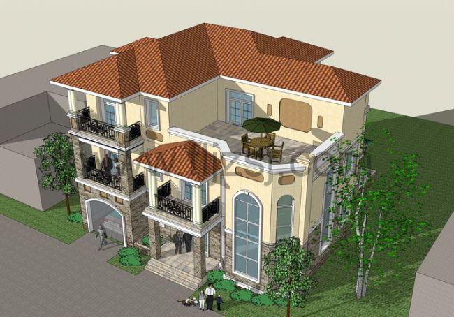 私人住宅别墅建筑图纸常识